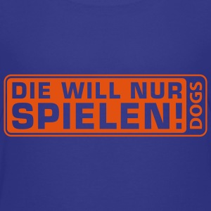 Martin Rütter - Die will nur spielen - Teenagersh - Teenager Premium T-Shirt