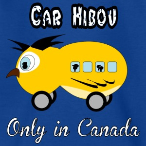Car hibou Shirts - Kids' T-Shirt