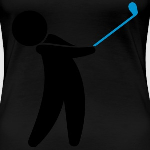 Golf (dd)++2013 T-Shirts - Frauen Premium T-Shirt