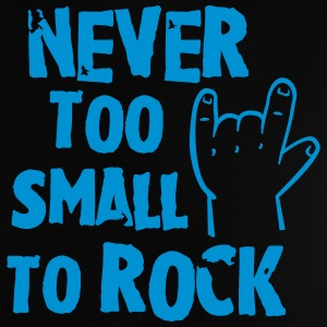 never too small to rock T-shirts - Baby-T-shirt