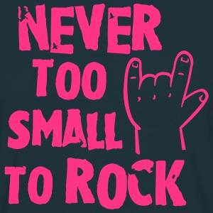 never too small to rock T-Shirts - Men's T-Shirt