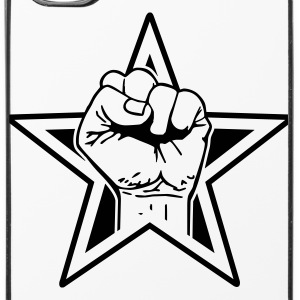 star fist Phone & Tablet Cases - iPhone 4/4s Hard Case