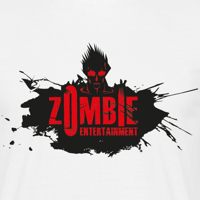 Zombie Entertainment Shirt! (Logo Schwarz-Rot)