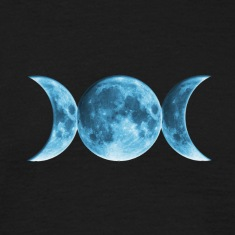 Wicca Blue Moon T-Shirts