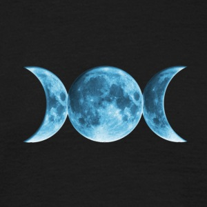 Wicca Blue Moon T-Shirts - Men's T-Shirt