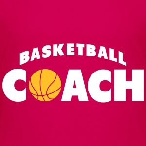 basketball coach Shirts - Teenage Premium T-Shirt