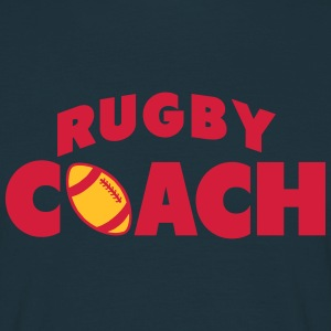 rugby coach Tee shirts - T-shirt Homme