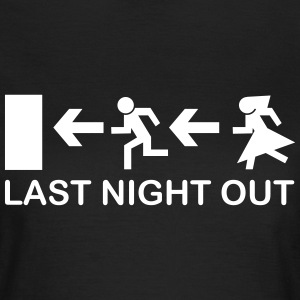 Bachelor's Last Night Out T-Shirts - Frauen T-Shirt