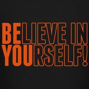 believe in yourself - be you Shirts - Teenage Premium T-Shirt