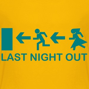Bachelor's Last Night Out Shirts - Teenage Premium T-Shirt