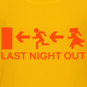 Bachelor's Last Night Out Shirts - Kids' Premium T-Shirt