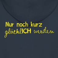 Motiv ~ Herren Kapuzenjacke Motto 2013 gelb