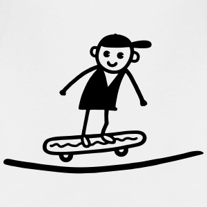 Skater in der Halfpipe T-Shirts - Teenager Premium T-Shirt