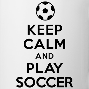 Keep calm and play Soccer Bouteilles et tasses - Tasse