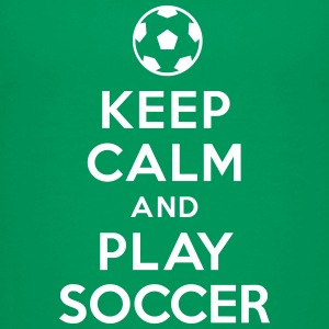 Keep calm and play Soccer Tee shirts - T-shirt Premium Enfant