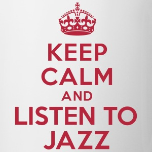 Keep calm and listen to Jazz Bouteilles et tasses - Tasse