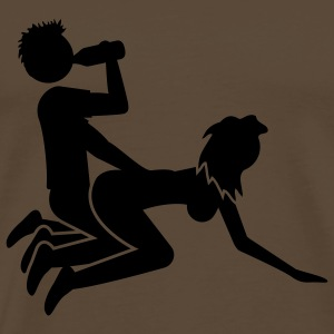 Sex And Beer T-shirts - Mannen Premium T-shirt