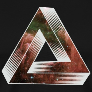 Cosmic Impossible Triangle T-Shirts - Men's Premium T-Shirt