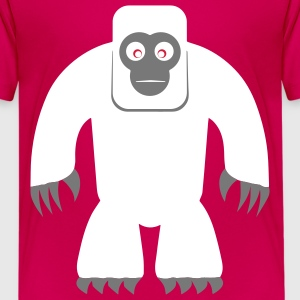 Yeti Shirt - Teenager Premium T-Shirt