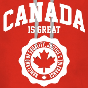 KANADA, CANADA IS GREAT Pullover & Hoodies - Frauen Premium Hoodie