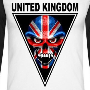 united kingdom Long sleeve shirts - Men's Long Sleeve Baseball T-Shirt
