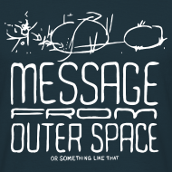 Motiv ~ Message From Outer Space (white)