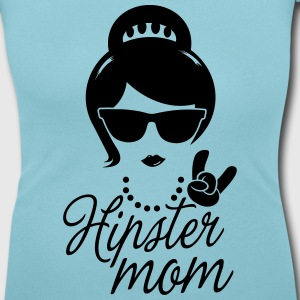 Like a i love hipster mother mom mother's day T-Shirts - Women's Scoop Neck T-Shirt