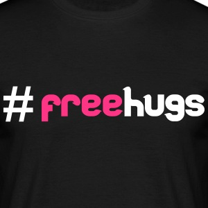 #FreeHugs T-skjorter - T-skjorte for menn