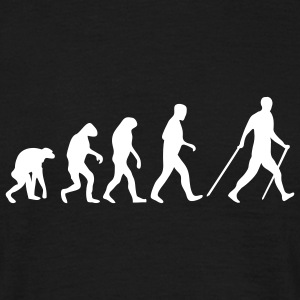 nordic walking evolution T-Shirts - Männer T-Shirt