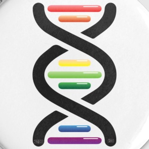 Gay DNA - Buttons/Badges stor, 56 mm