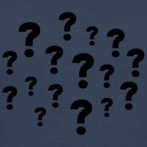 Question Marks T-shirts - Herre premium T-shirt