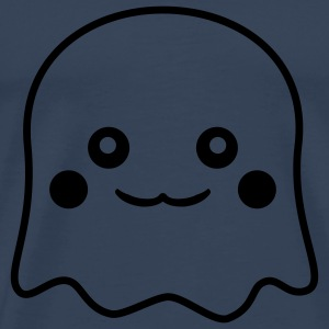 Cute Ghost T-shirts - Herre premium T-shirt