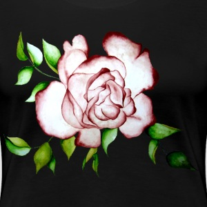 Rose T-Shirts - Frauen Premium T-Shirt