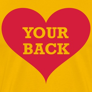 Love Your Back T-Shirts - Men's Premium T-Shirt