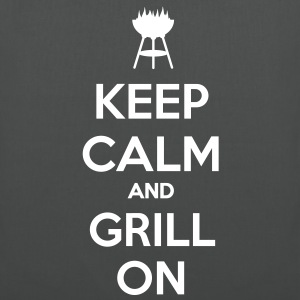 Keep calm and grill on - Tote Bag