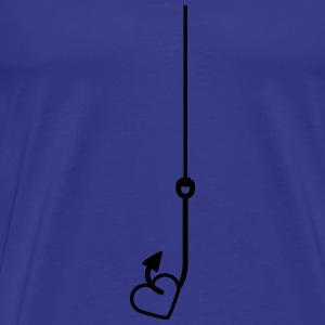 Love Fishing T-shirts - Mannen Premium T-shirt