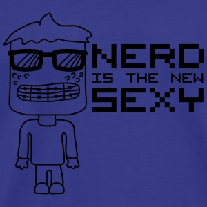 Nerd Is The New Sexy T-skjorter - Premium T-skjorte for menn