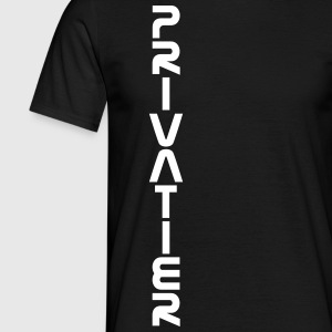 PRIVATIER - vertikal - Männer T-Shirt