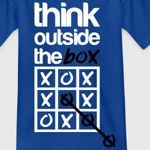 Think outside the box Shirts - Kinderen T-shirt