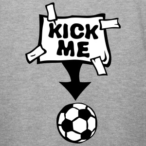 kick me etiquette affiche foot soccer Sweat-shirts - Sweat-shirt Homme