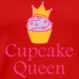 Cupcake Queen T-Shirts - Men's Premium T-Shirt