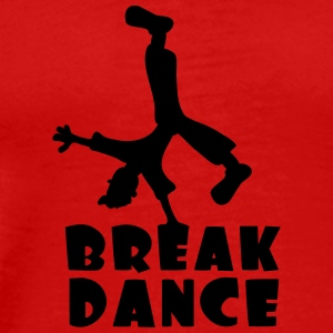 Breakdance T-shirts - Mannen Premium T-shirt