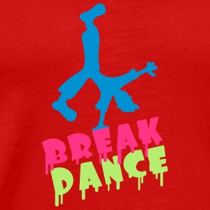 Break Dance T-shirts - Herre premium T-shirt