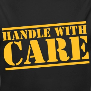 handle with care box sign in stencil Hoodies - Longlseeve Baby Bodysuit