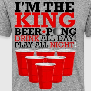 king beer pong Tee shirts - T-shirt Premium Homme