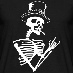 skeleton rock T-Shirts - Männer T-Shirt