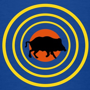 target and pig T-shirts - Børne-T-shirt