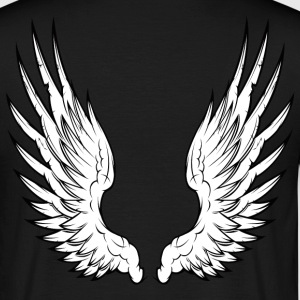 Black angel wings Men's Tees - Men's T-Shirt