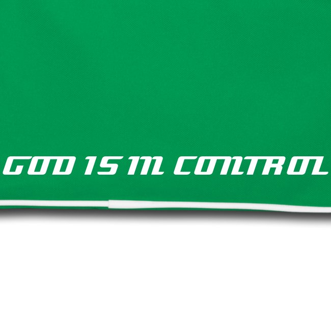 God Is In Control - Retro-Bag