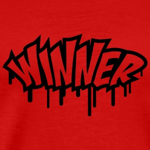 Winner Graffiti T-shirts - Herre premium T-shirt